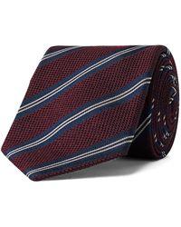 Bigi 8.5cm Silk And Wool-blend Jacquard Tie - Multicolor