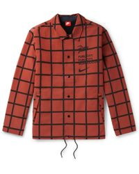 Nike - + Patta Checked Shell Jacket - Lyst