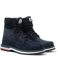 Moncler Vancouver Hiking Boot - Blue