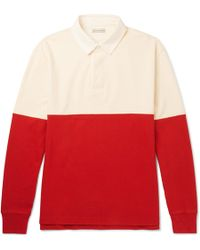 J.Crew | Cotton-jersey Polo Shirt | Lyst