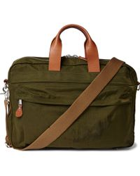 J.Crew - Harwick Leather-trimmed Shell Briefcase - Lyst