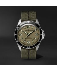 Bell & Ross Br V2-92 Military Green Automatic 41mm Stainless Steel And Canvas Watch