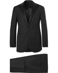 Polo Ralph Lauren - Black Fairbanks Slim-fit Wool Tuxedo - Lyst