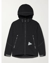 and wander Schoeller 3xdry Hooded Jacket - Black