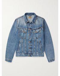 Nudie Jeans Bobby Slim-fit Denim Jacket - Blue