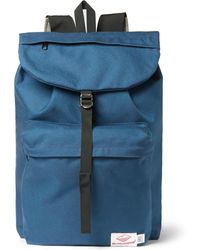 Battenwear Day Hiker Canvas Backpack - Blue