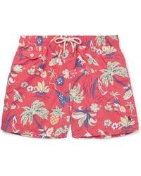 Polo Ralph Lauren - Mid-length Printed Shell Swim Shorts - Lyst