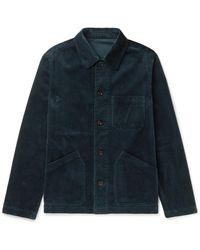 MR P. Cotton-corduroy Chore Jacket - Gray