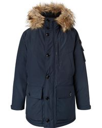 J.Crew - Nordic Faux Fur-trimmed Canvas Hooded Parka - Lyst