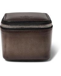 Berluti Venezia Leather Watch Case - Brown