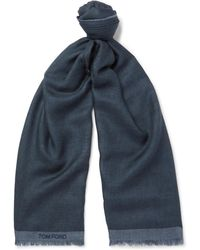 Tom Ford - Cashmere And Silk-blend Scarf - Lyst