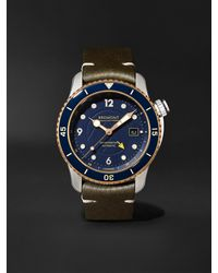 Bremont Project Possible Limited Edition Automatic Gmt 43mm Titanium - Blue