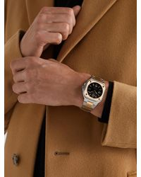 Bell & Ross Br 05 Black Steel And Gold Automatic 40mm 18-karat Rose Gold And Steel Watch