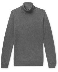 BOSS by Hugo Boss - Slim-fit Virgin Wool Rollneck Sweater - Lyst
