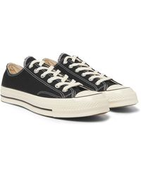 Converse All Star Ox Casual Basketball Shoes - Black