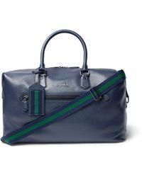 Polo Ralph Lauren - Full-grain Leather Holdall - Lyst