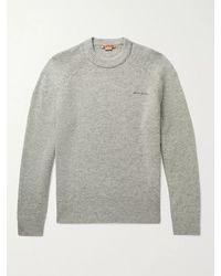 Acne Studios Kowhai Mélange Wool Jumper - Grey