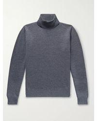 Saman Amel Merino Wool Jumper - Grey