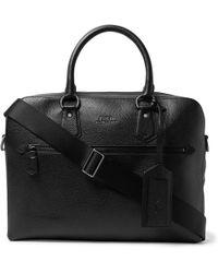 Polo Ralph Lauren - Pebble-grain Leather Briefcase - Lyst