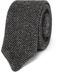 Berluti - 5cm Knitted Cashmere Tie - Lyst