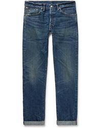RRL - Slim-fit Selvedge Denim Jeans - Lyst