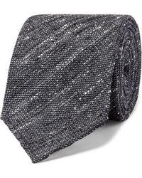 Thom Sweeney - 8cm Slub Silk Tie - Lyst