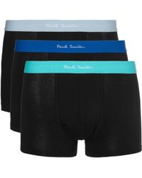 Paul Smith - Three-pack Stretch-cotton Boxer Briefs - Lyst