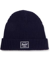 Herschel Supply Co. | Morris Ribbed-knit Beanie | Lyst