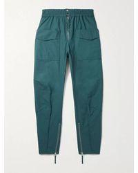 Isabel Marant Tilsen Cotton Cargo Trousers - Green