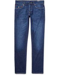 Brunello Cucinelli Slim Fit Jeans - Blue