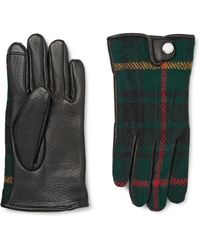 Polo Ralph Lauren - Thinsulate™-lined Leather And Wool And Alpaca-blend Tech Gloves - Lyst
