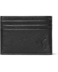 Polo Ralph Lauren - Full-grain Leather Cardholder - Lyst