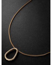 Laud Fragment 18-karat Gold Diamond Necklace - Metallic