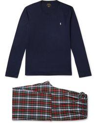 Polo Ralph Lauren William Cotton Pyjama Set - Blue