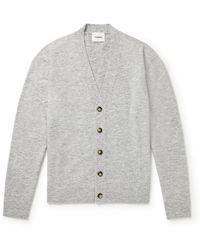 Nanushka Drew Knitted Cardigan - Gray
