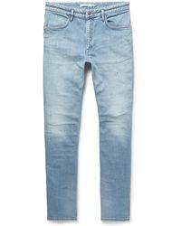 Nonnative | Dweller Slim-fit Washed Stretch-denim Jeans | Lyst