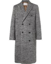 SALLE PRIVÉE - Alain Double-breasted Herringbone Wool-blend Coat - Lyst