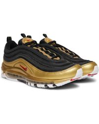 Nike - Air Max 97 Qs Faux Leather And Mesh Sneakers - Lyst