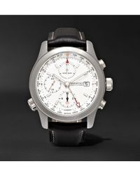 Kingsman - + Bremont Alt1-wt/wh World Timer 43mm Stainless Steel And Leather Automatic Chronograph Watch - Lyst