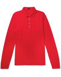 Mp Massimo Piombo - Cotton-jersey Polo Shirt - Lyst