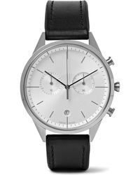 Uniform Wares | C39 Stainless Steel And Leather Watch | Lyst