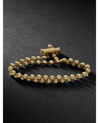 Luis Morais 14-karat Gold Diamond Bracelet - Metallic