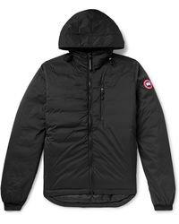 Canada Goose Lodge Hooded Jacket - Black