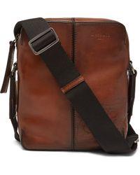 Berluti - Monolithe Small Leather Messenger Bag - Lyst