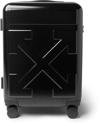 Off-White c/o Virgil Abloh Arrow Polycarbonate Carry-on Suitcase - Black