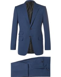 Tom Ford - Blue O'connor Slim-fit Wool Suit - Lyst