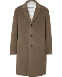 President's Alpaca And Wool-blend Coat - Brown