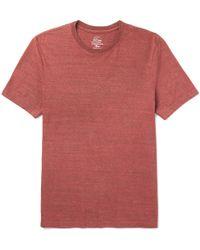 J.Crew | Mélange Slub Jersey T-shirt | Lyst