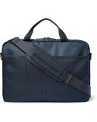 NN07 City Nylon Briefcase - Blue