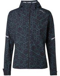 2XU Ghst Wp Shell Hooded Jacket - Black